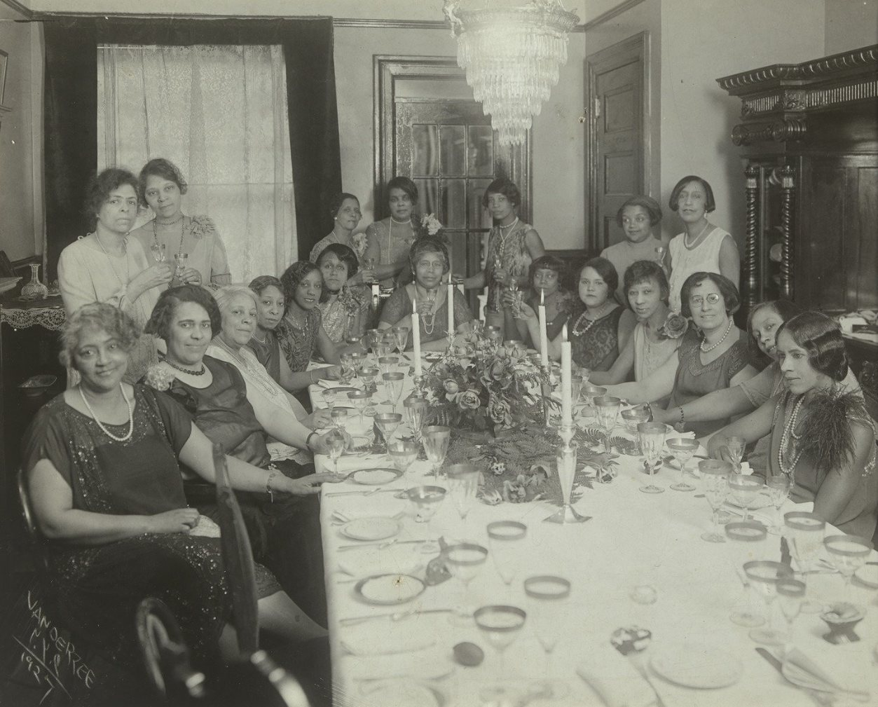 Harlem Society Tea, 1927.
