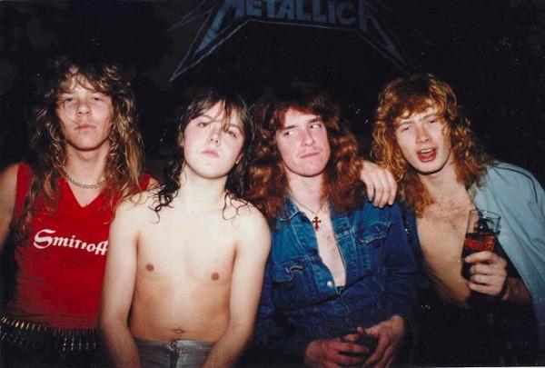 Metallica, history photo