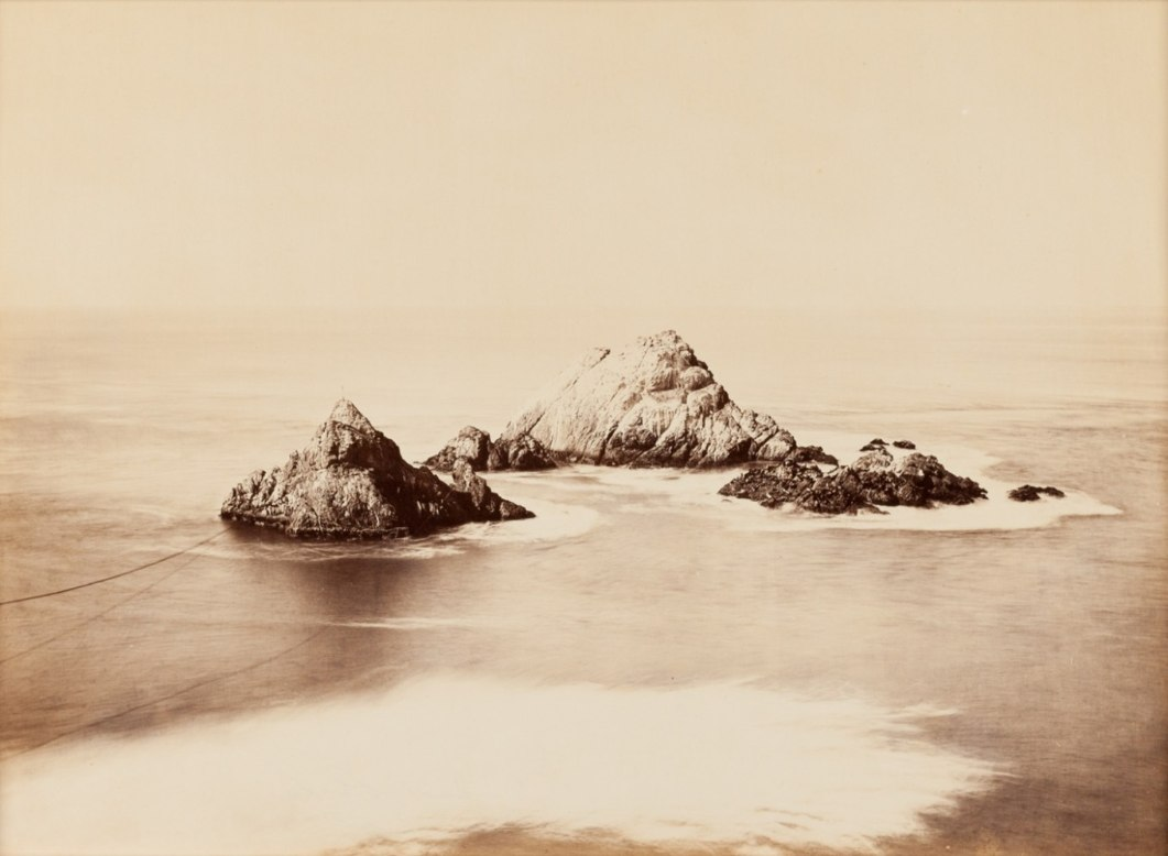 Seal Rocks, Cliff House, San Francisco, ca. 1868