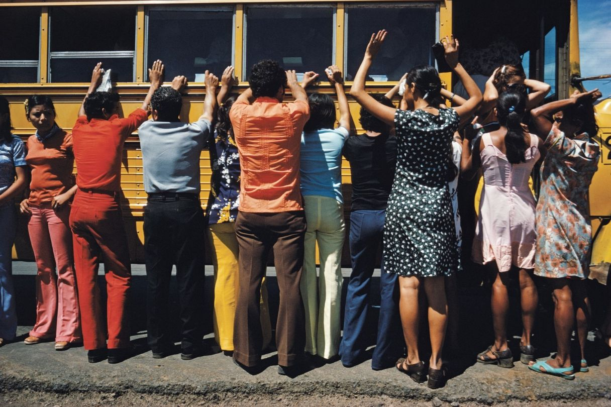 bus inspection in Nicaragua