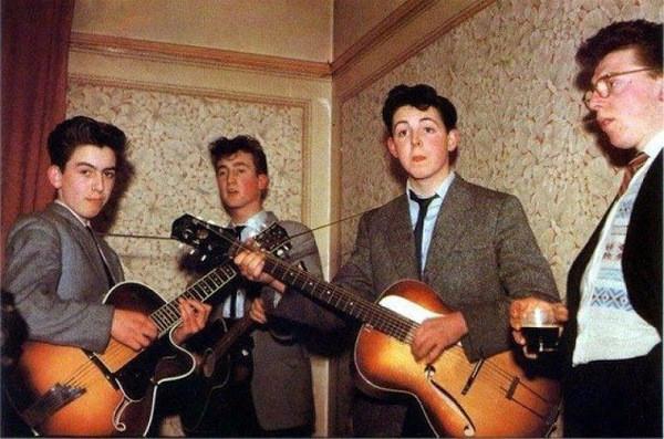 The Beatles history photo