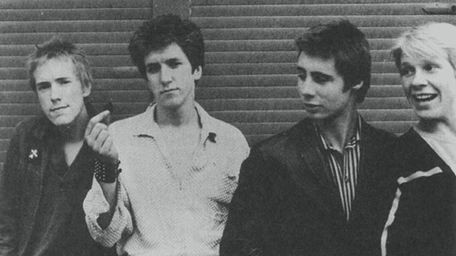 The Sex Pistols young
