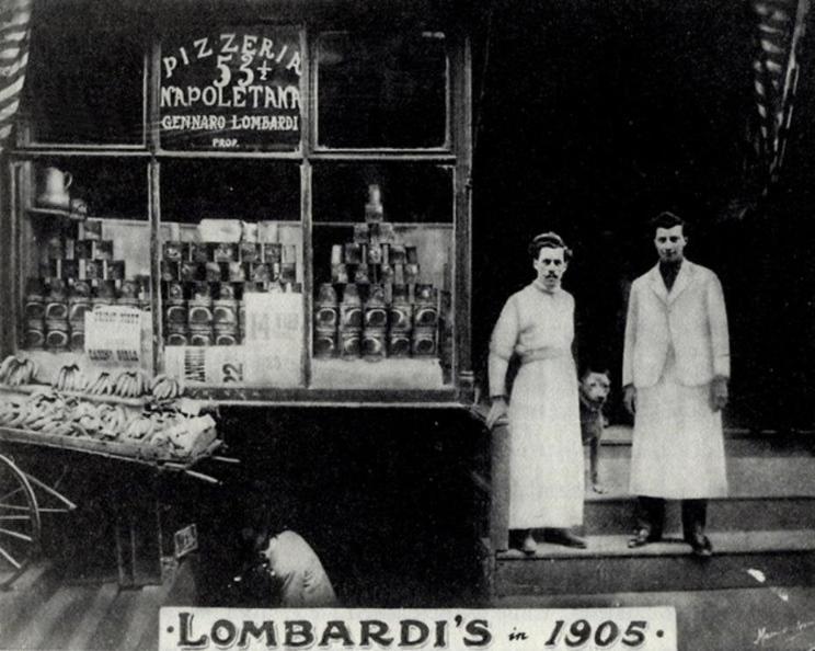 Lombardis pizzeria NYC 1905