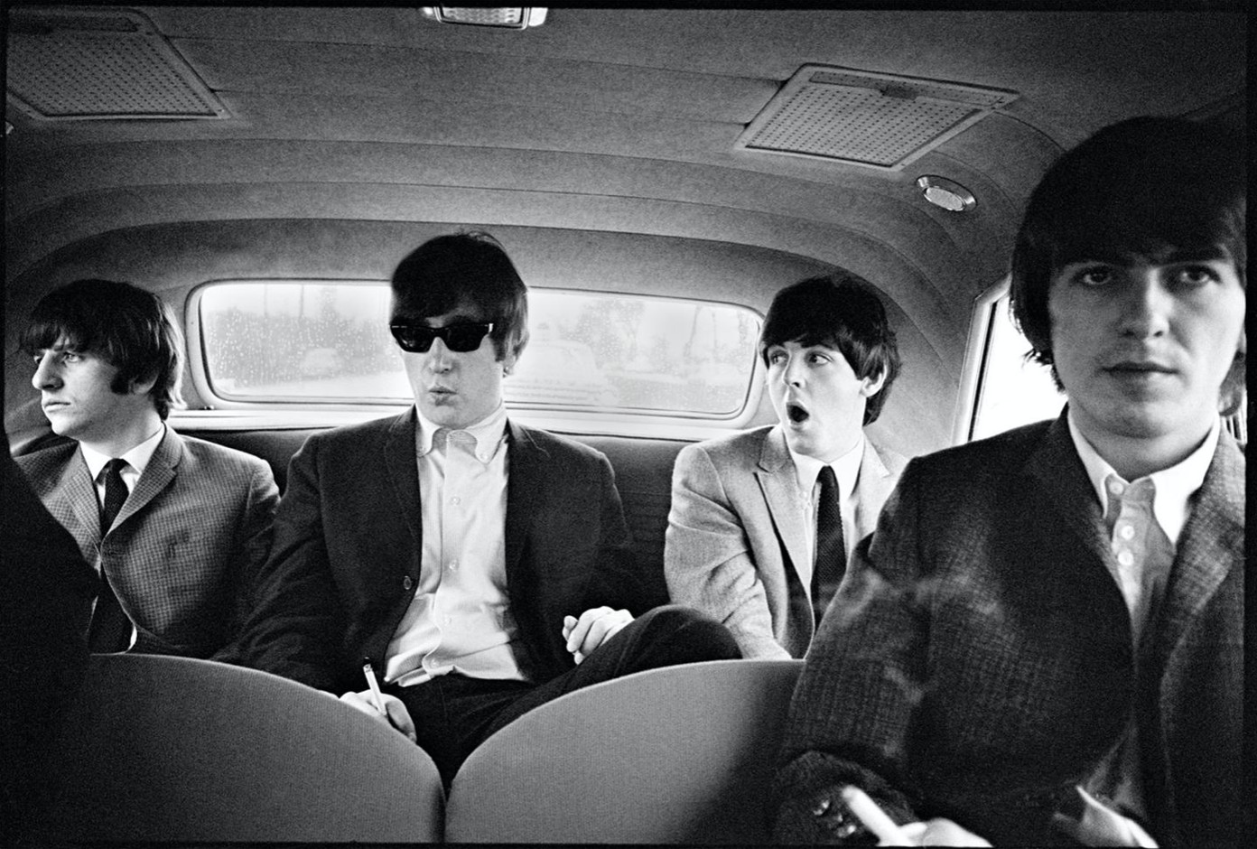 The Beatles, Limo, US tour