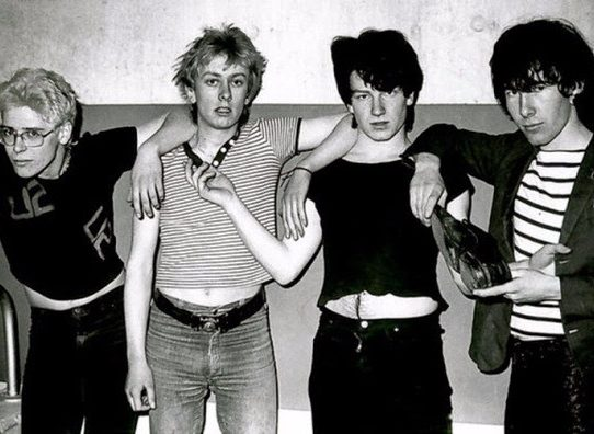 Rock bands photos before they became popular