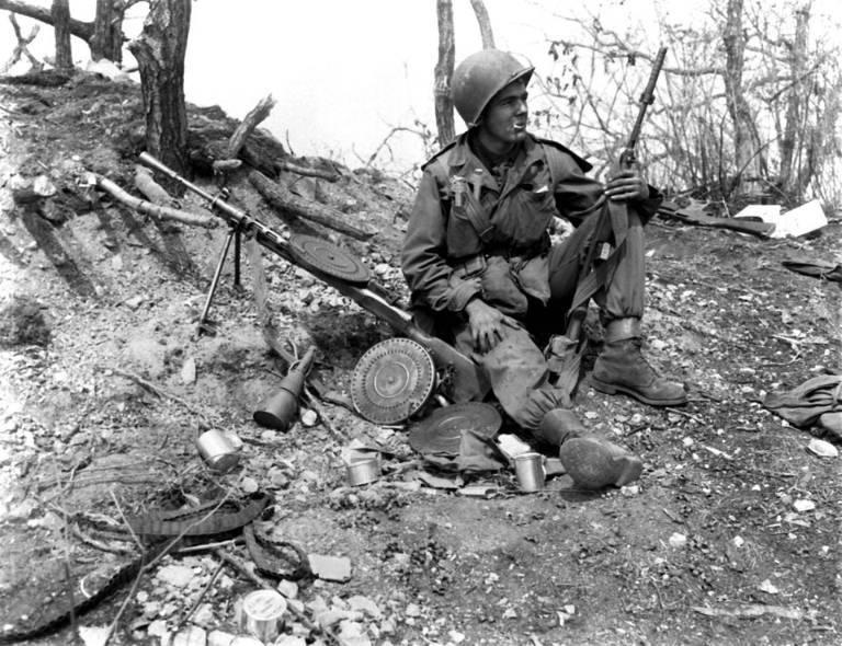 US soldier photo  the Korean war