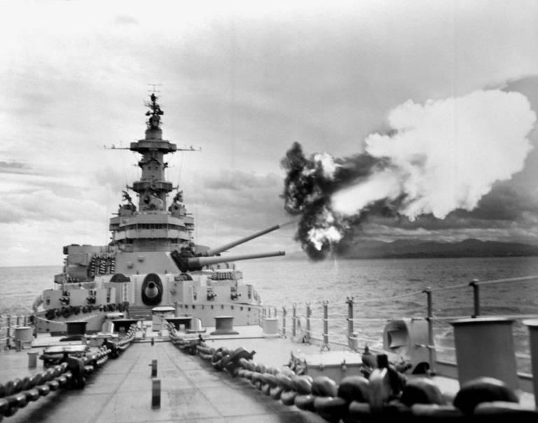 USS Iowa Korean war