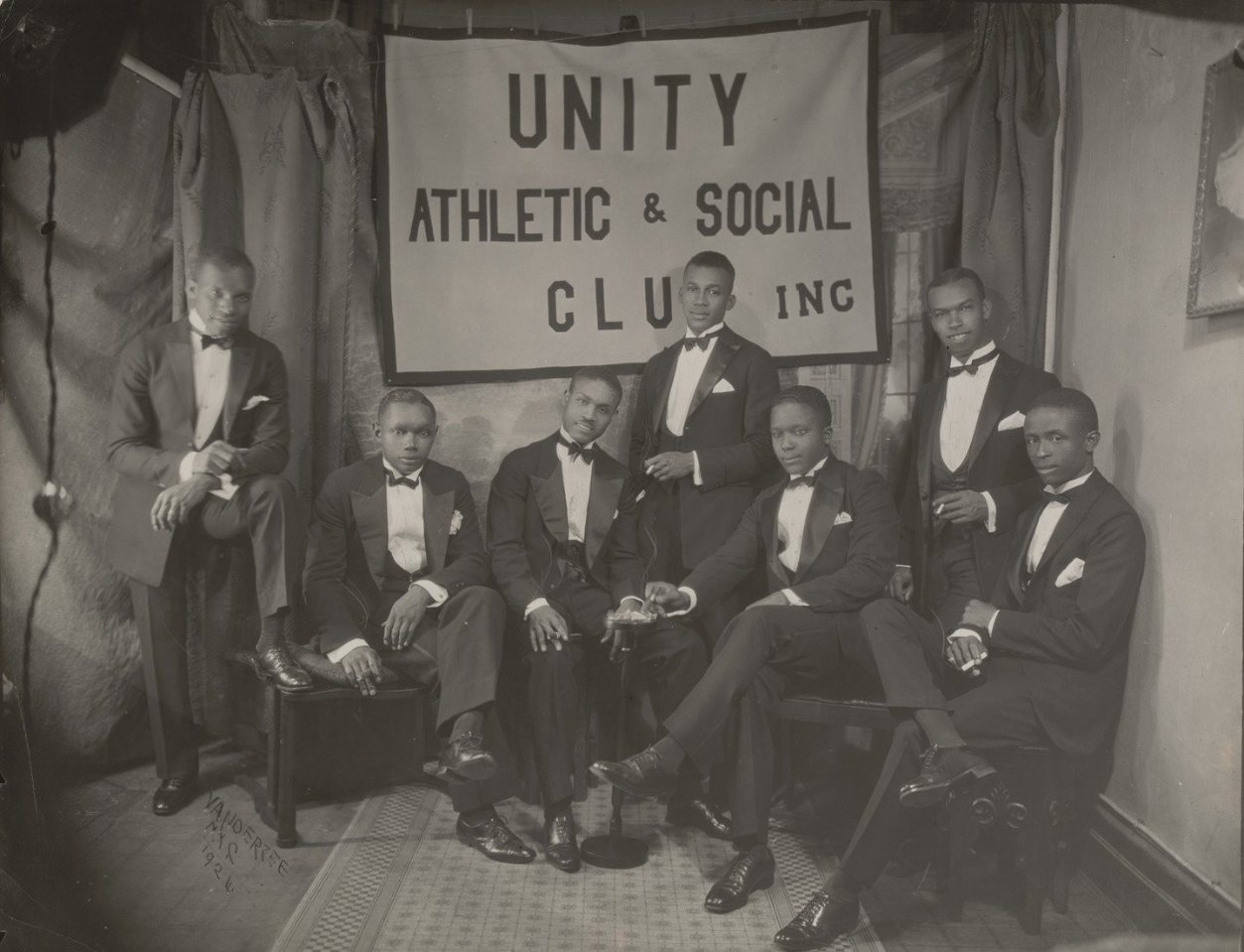 Unity Athletic and Social Club, Inc., 1926.