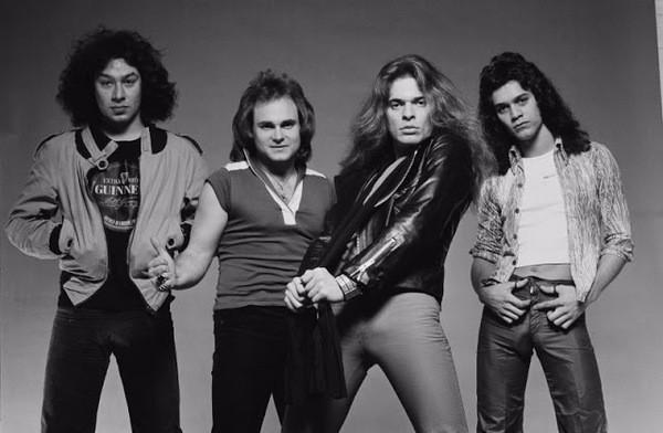 Van Halen, early photo