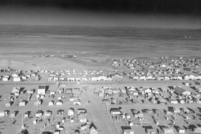 Wheeler, one of the towns around Fort Peck
