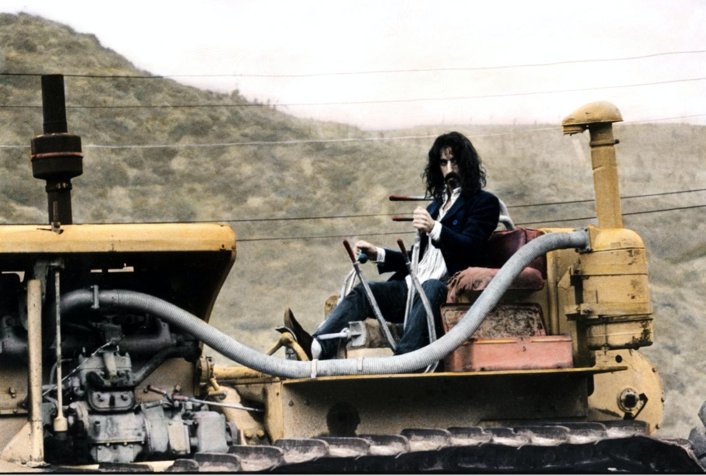 Zappa, Rock music photo history 60s