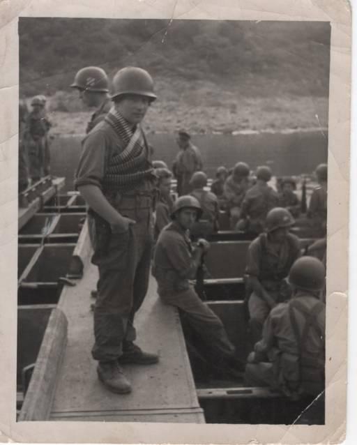 Belgian troops in South Korea