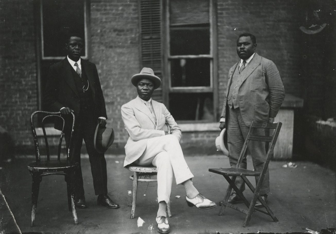 wealthy black men of Harlem, VanDerZee photos