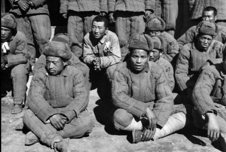 captured soldiers from China, the Korean war