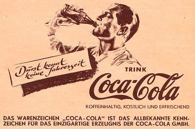 classic German profile advertising