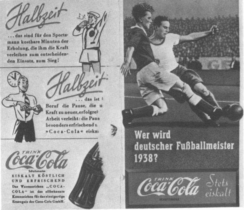 Nazi propaganda style in advertising