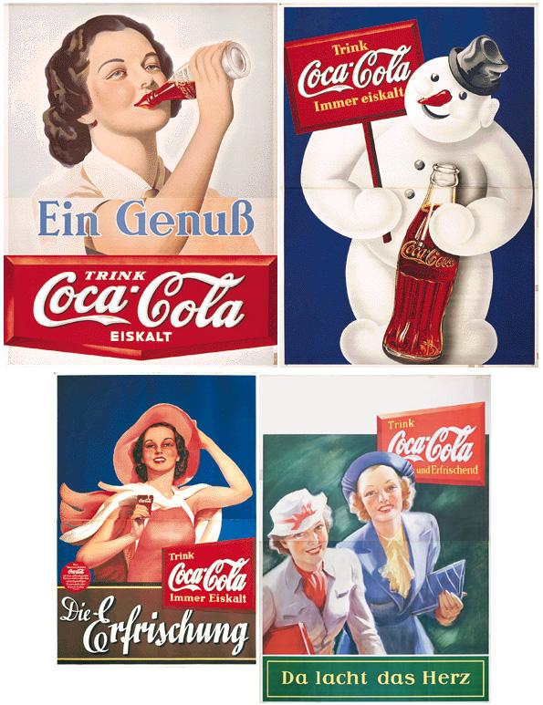 Coca-Cola Christmas advertising 30s