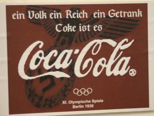 Coca-Cola advertising Nazi Germany