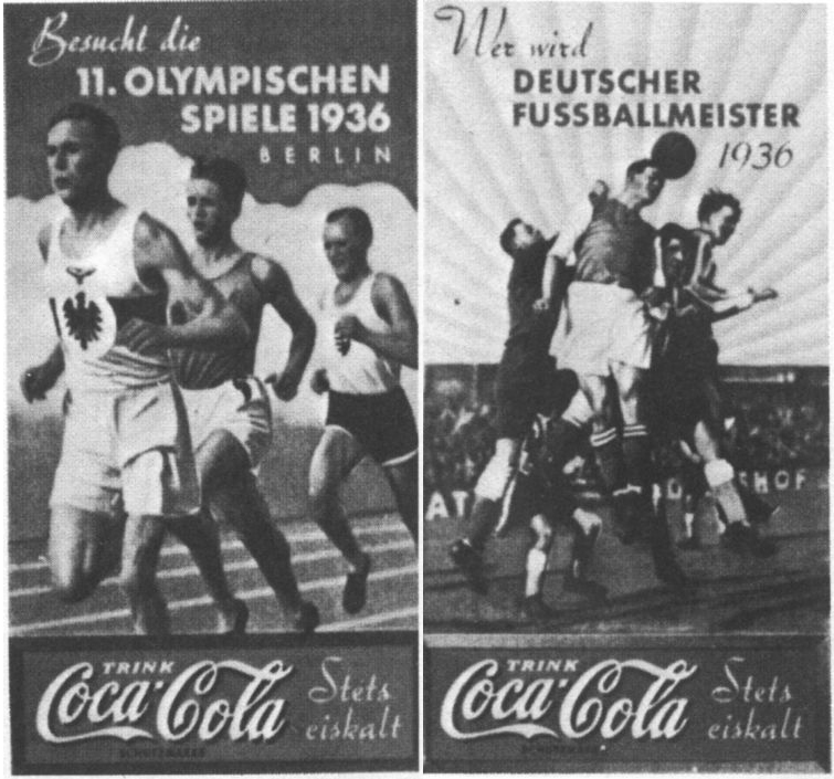 Coca-Cola fooball running ad