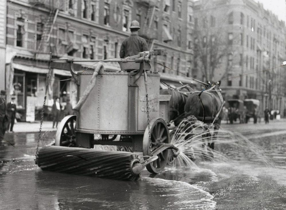 street cleaner NYC