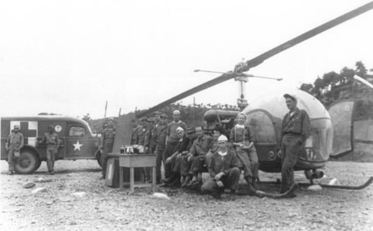 mash unit the Korean war