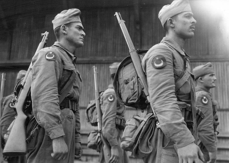 Turkish soldiers photo the Korean war