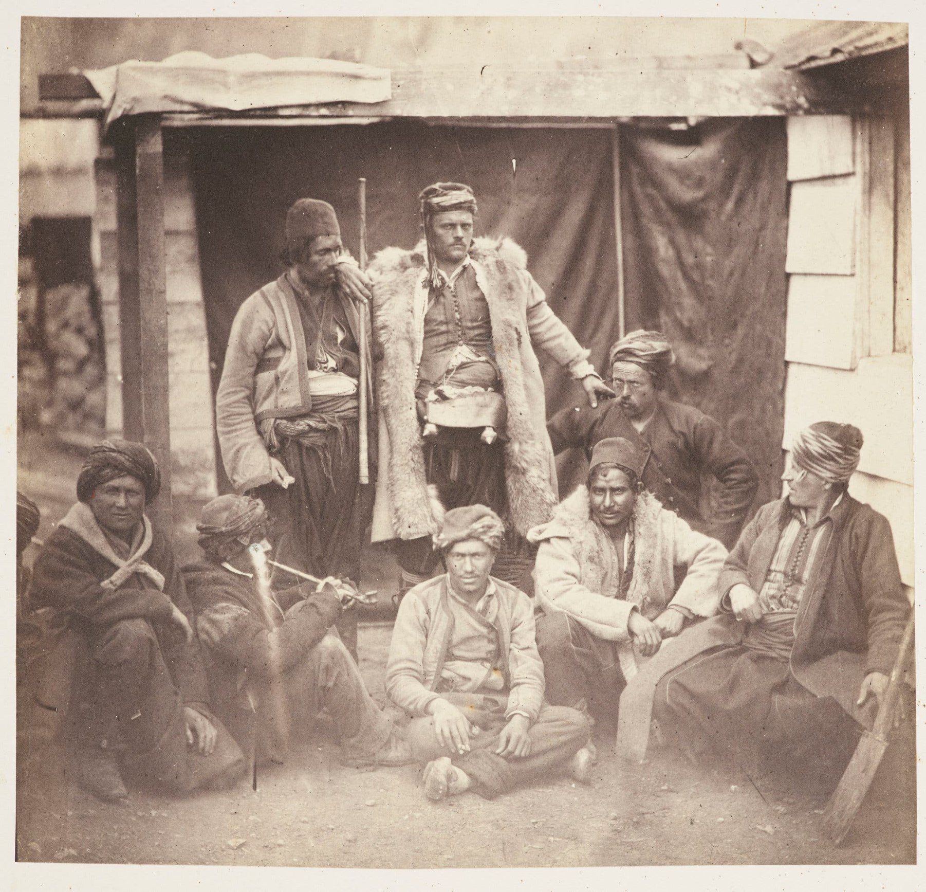 group of allied croats