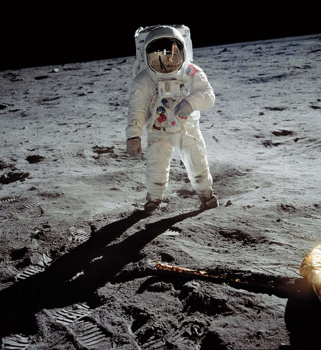 A Man on the Moon, Neil Armstrong, NASA, 1969