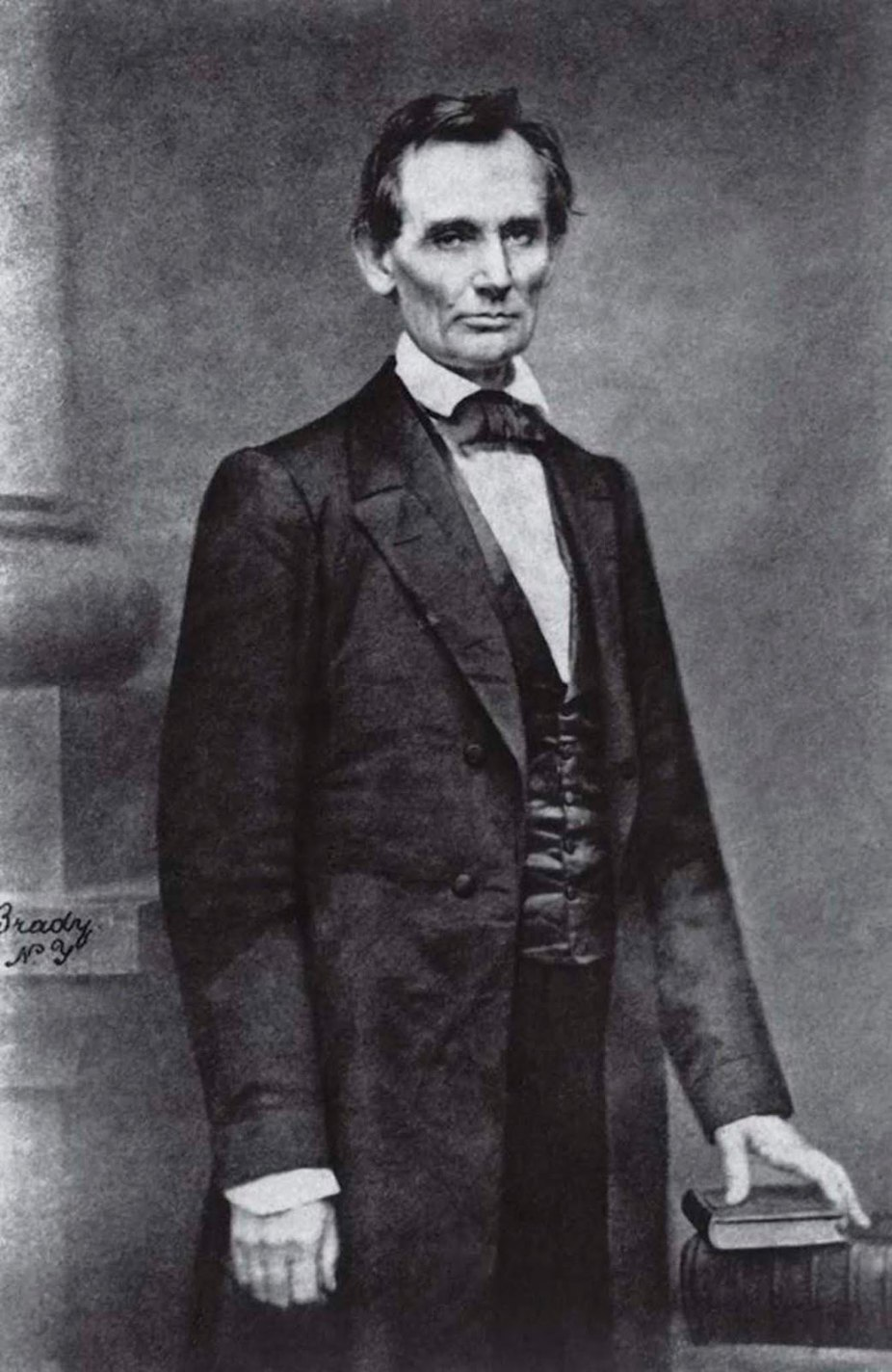 historical photos of Abraham Lincoln, Mathew B. Brady, 1860