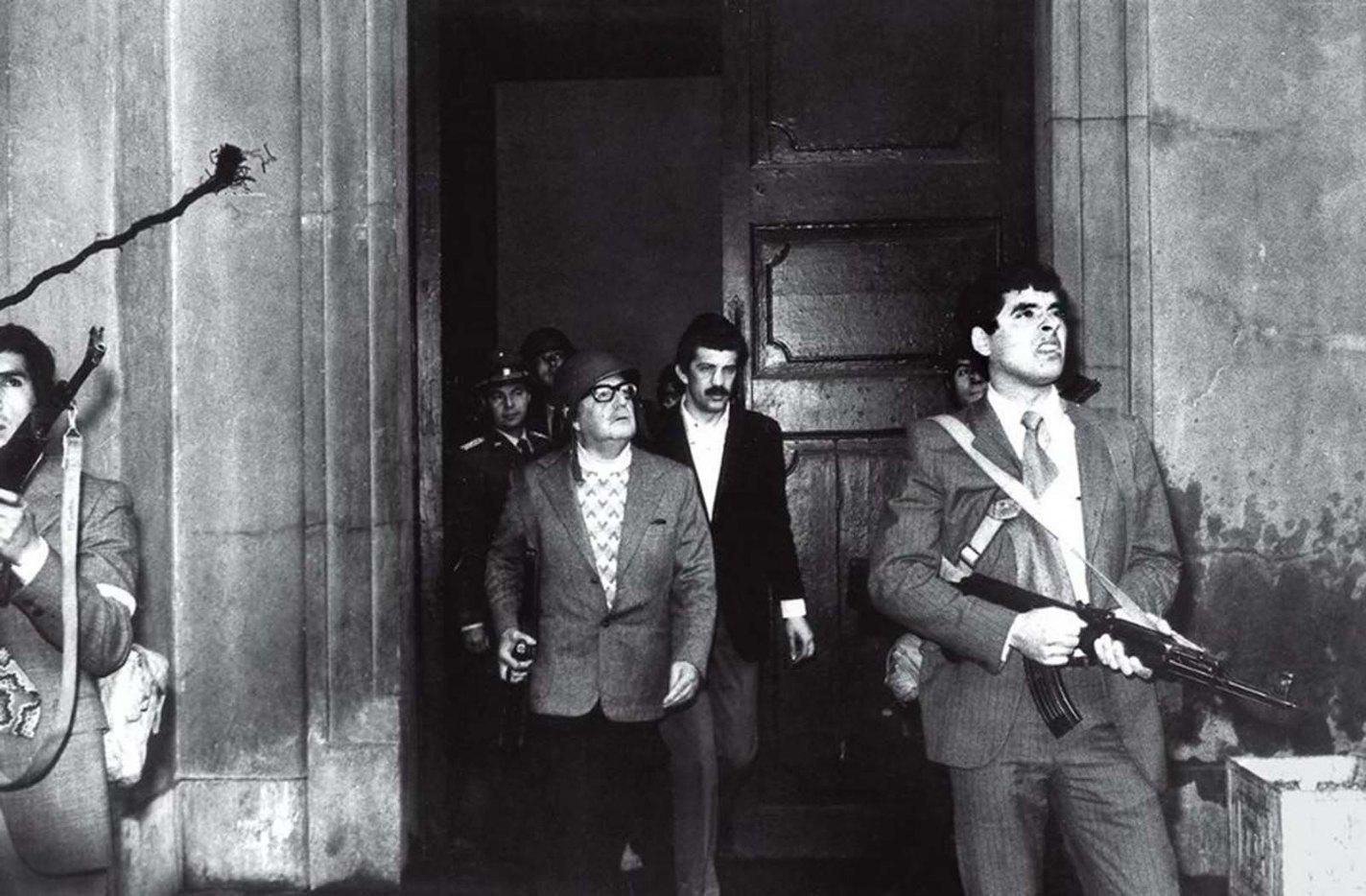Allende's Last Stand, Luis Orlando Lagos, 1973