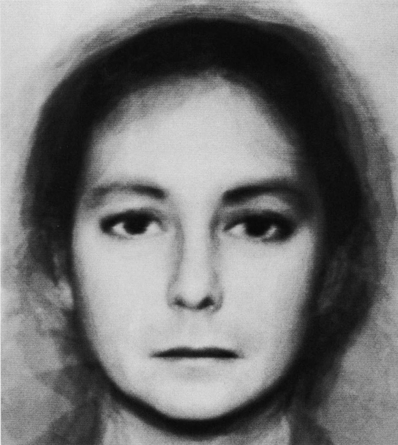 Androgyny (6 Men + 6 Women), Nancy Burson, 1982