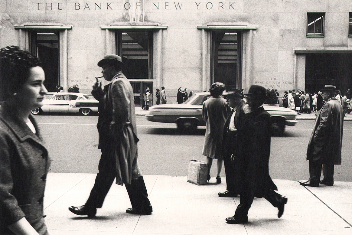 Bank of New York, 1959 by Simpson Kalisher