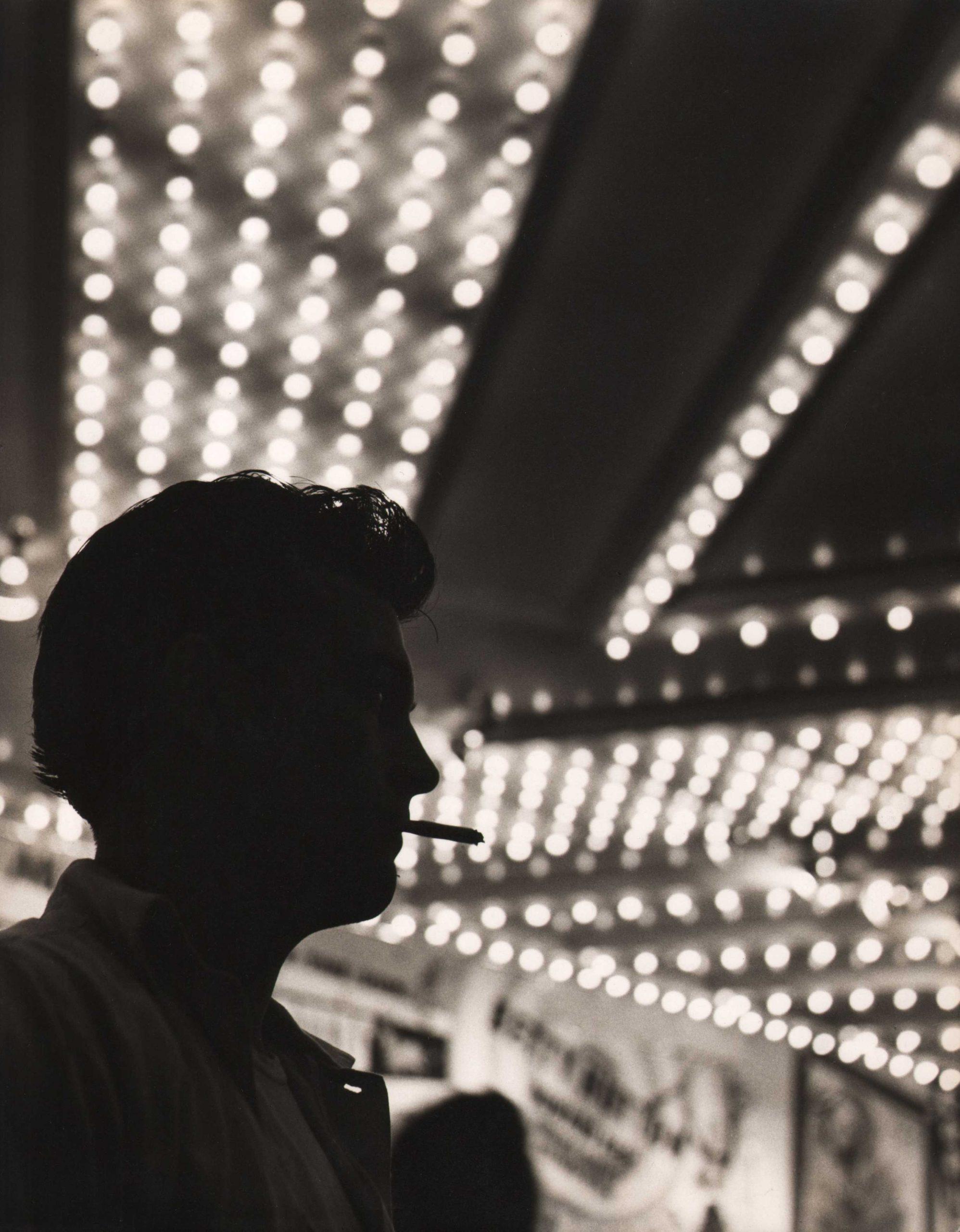 Benn Mitchell, Times Square, 1950