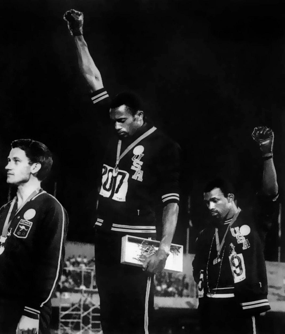 Black Power Salute, John Dominis, 1968