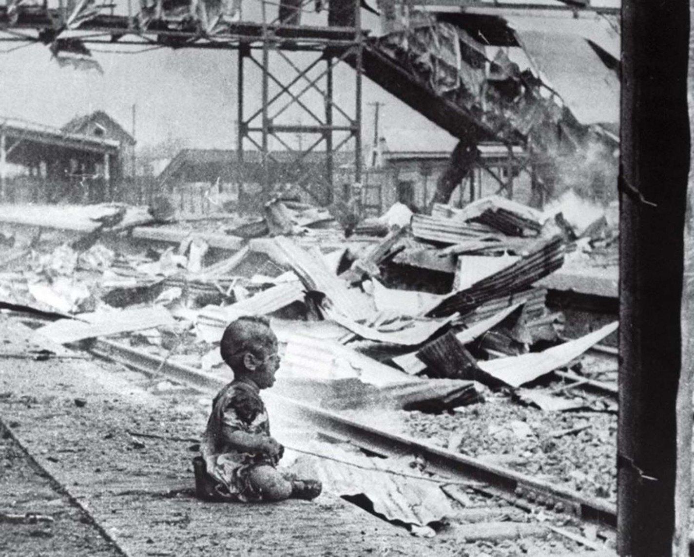 history photo Bloody Saturday, H.S. Wong, 1937