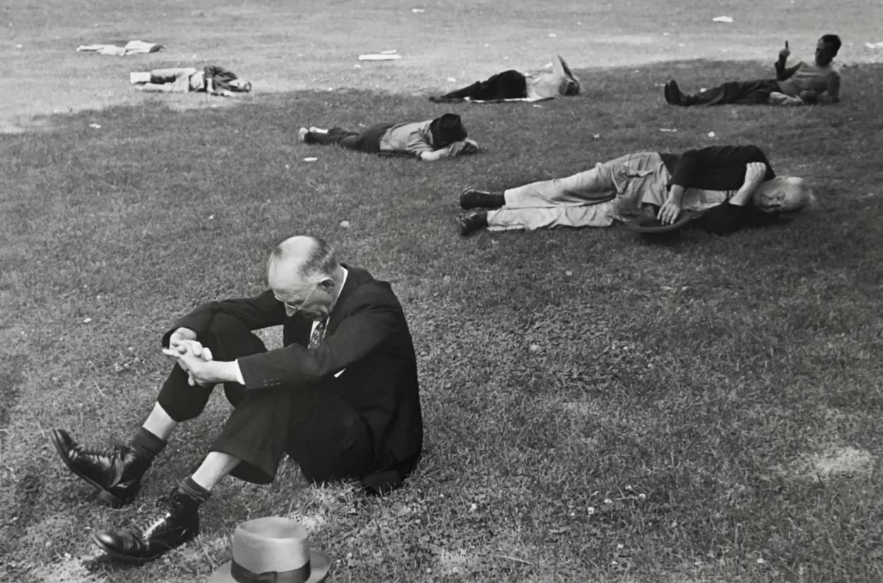 Boston Commons, 1947
