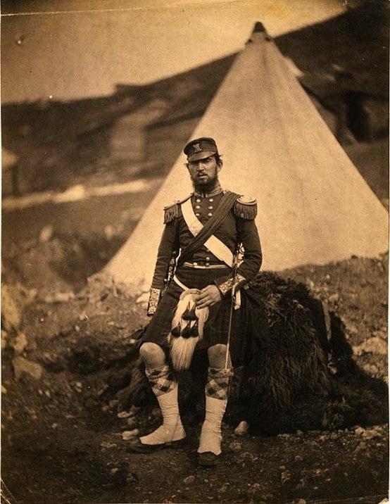 Captain Cuninghame, 42nd Royal Highland Regiment