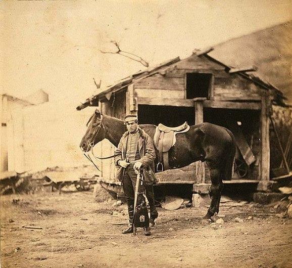 Captain King, horse artillery