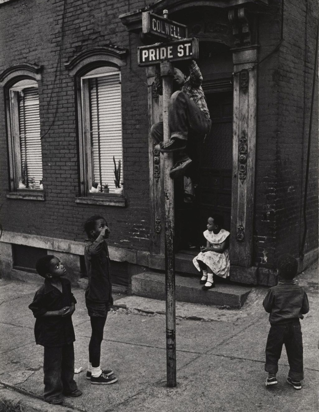 Children of Pittsburgh by W Eugene Smith