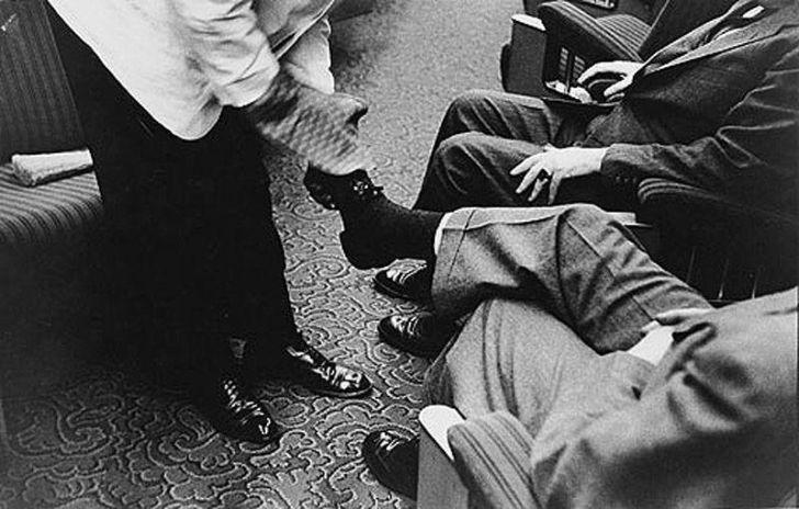 'Congressmen' Robert Frank photos