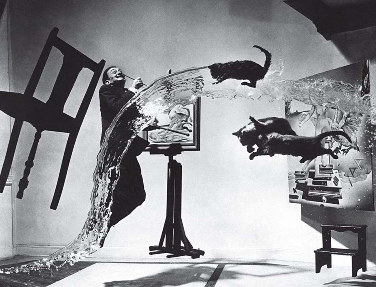 Dalí Atomicus, Philippe Halsman, 1948
