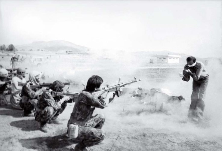 The firing squad, Iran, 1979