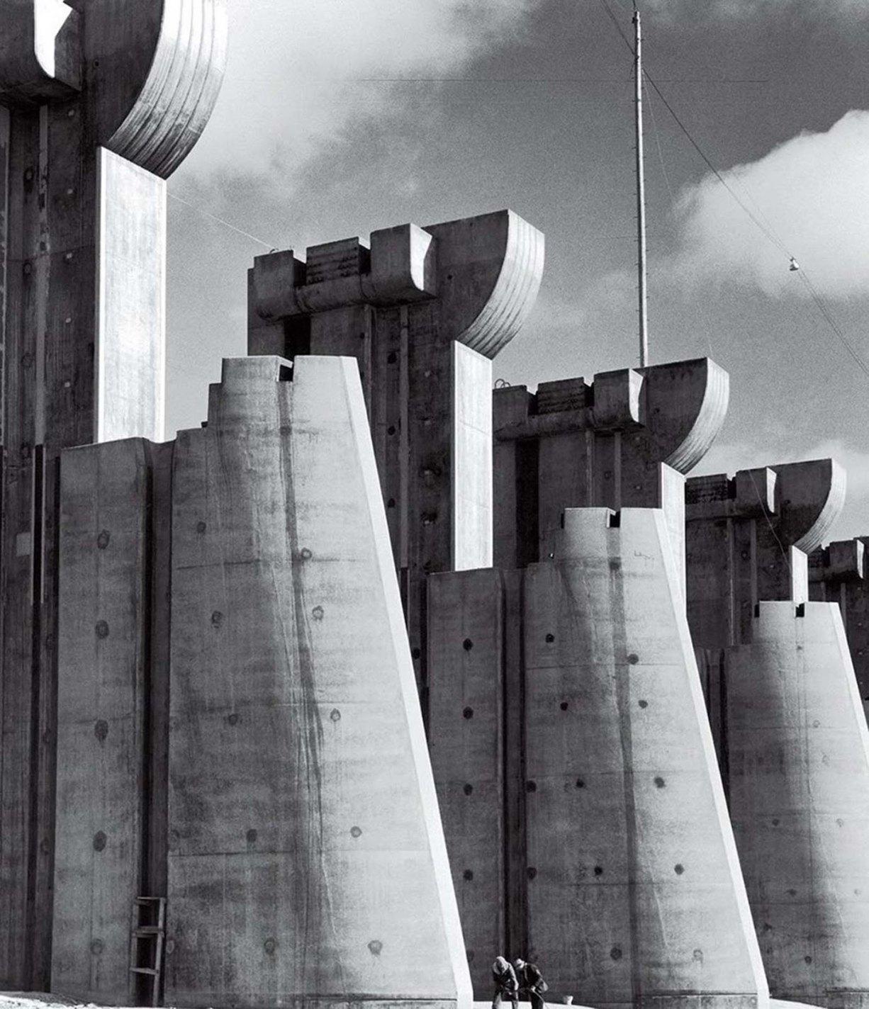 Fort Peck Dam, Margaret Bourke-White, 1936