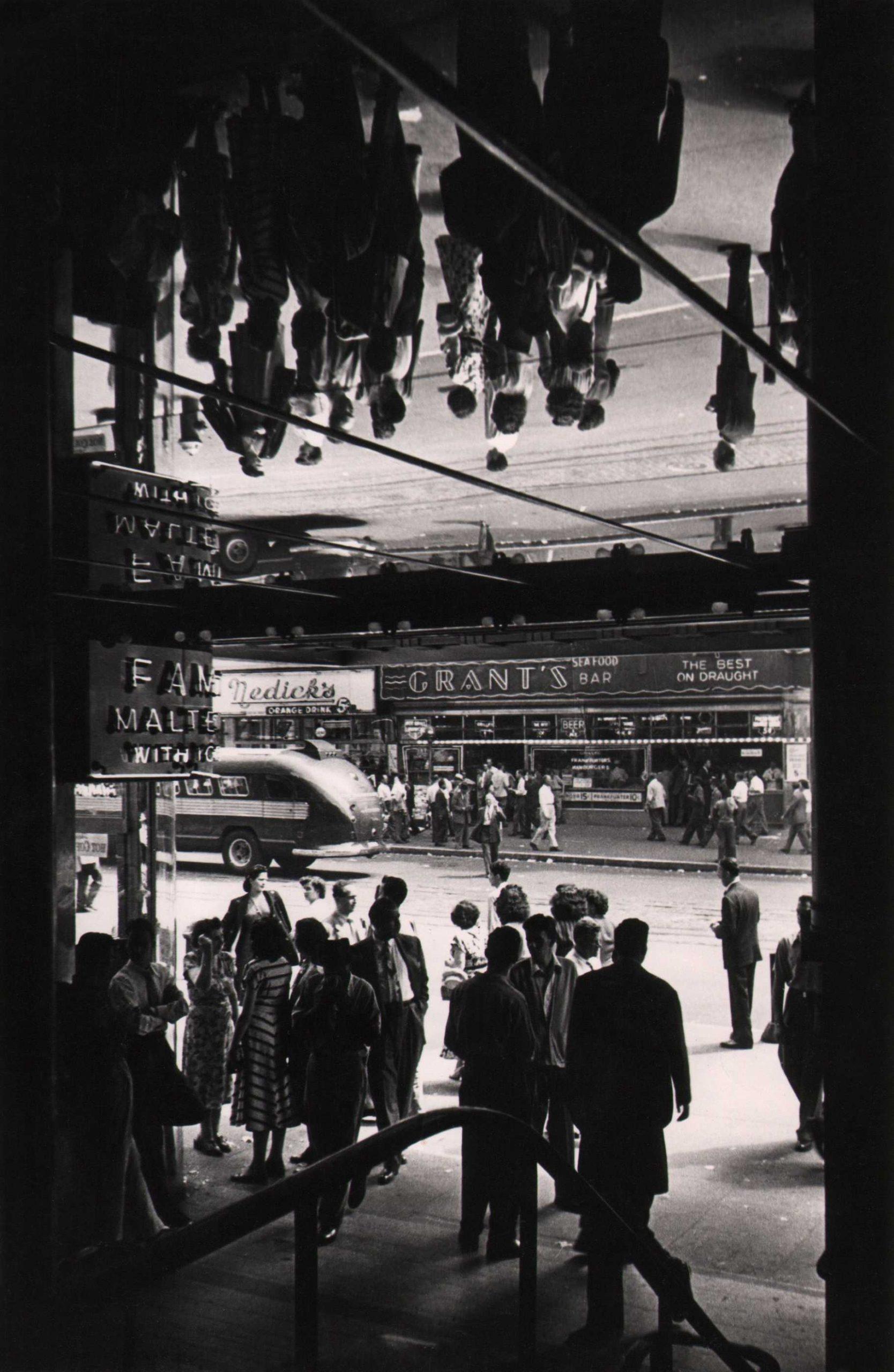 Fritz Neugass, 42nd Street, c. 1948