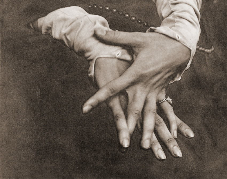 hands of Georgia o'Keeffe, 1921