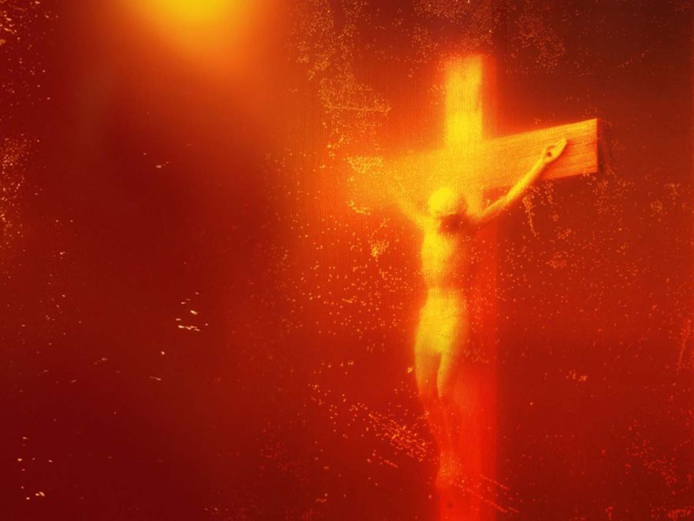 Immersions (Piss Christ), Andres Serrano, 1987