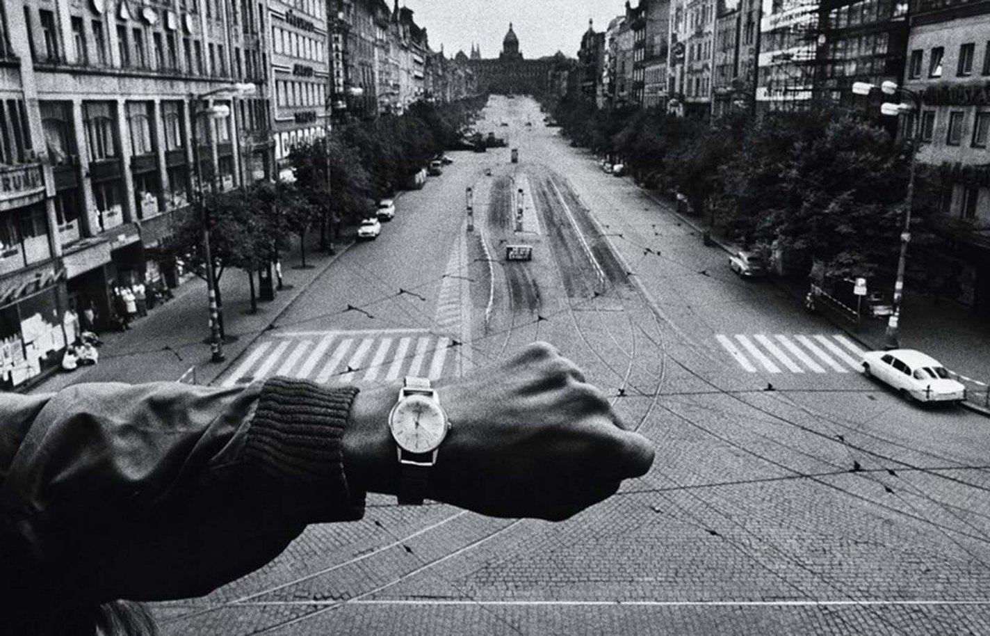 Invasion of Prague, Josef Koudelka, 1968