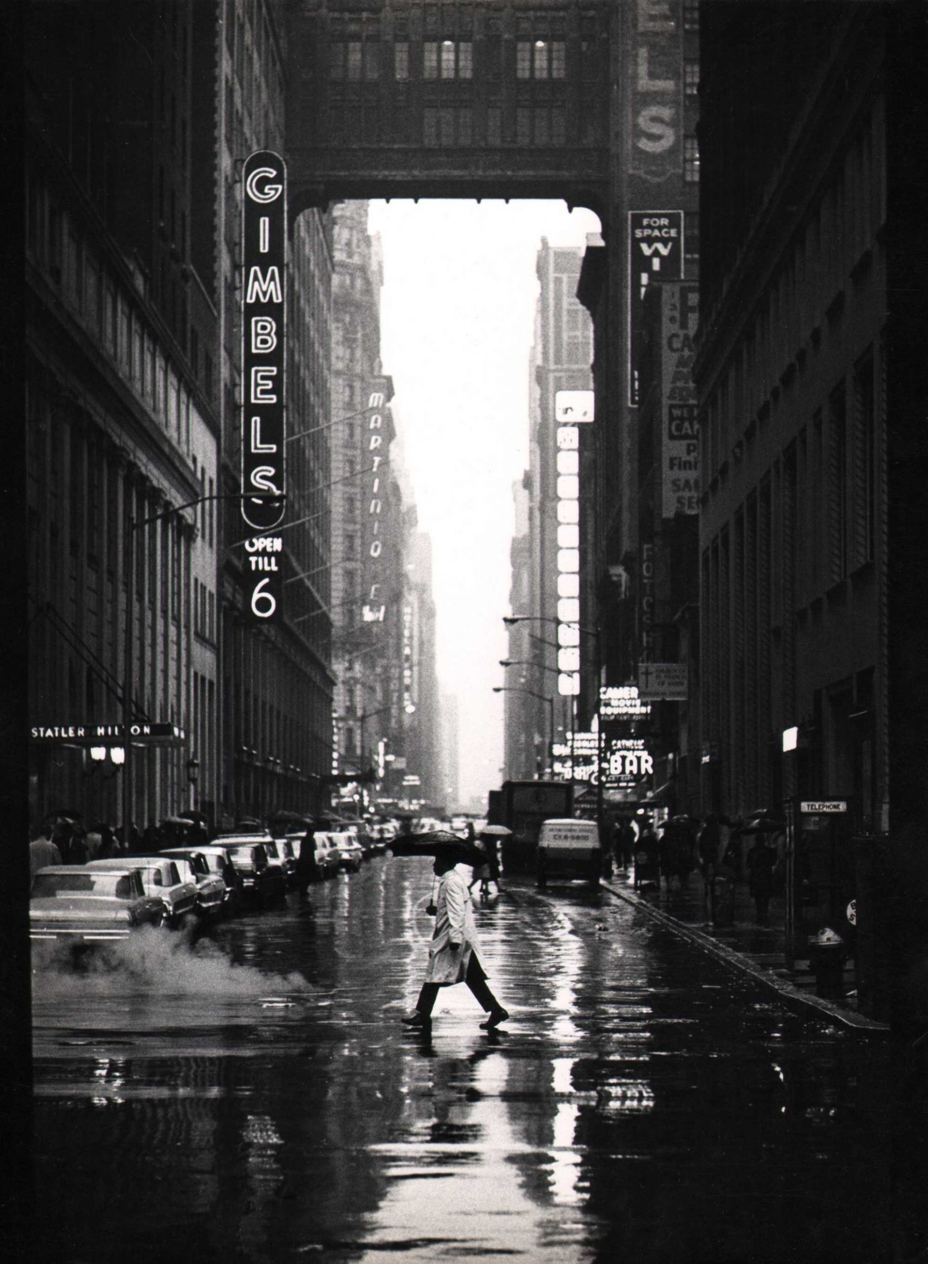 Jan Lukas, New York, 32nd Street, 1964