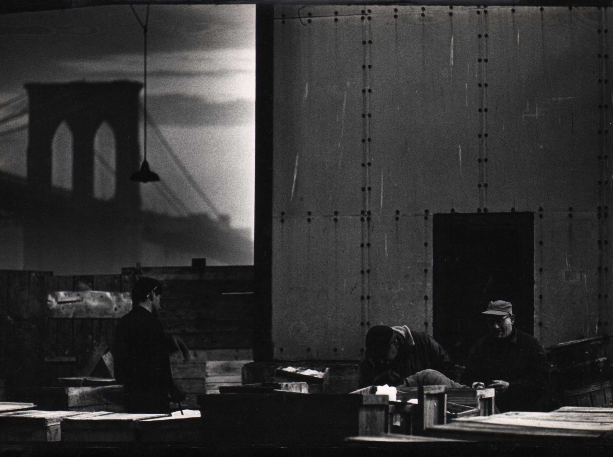 Jan Lukas, New York, Fulton Fishmarket, 1964