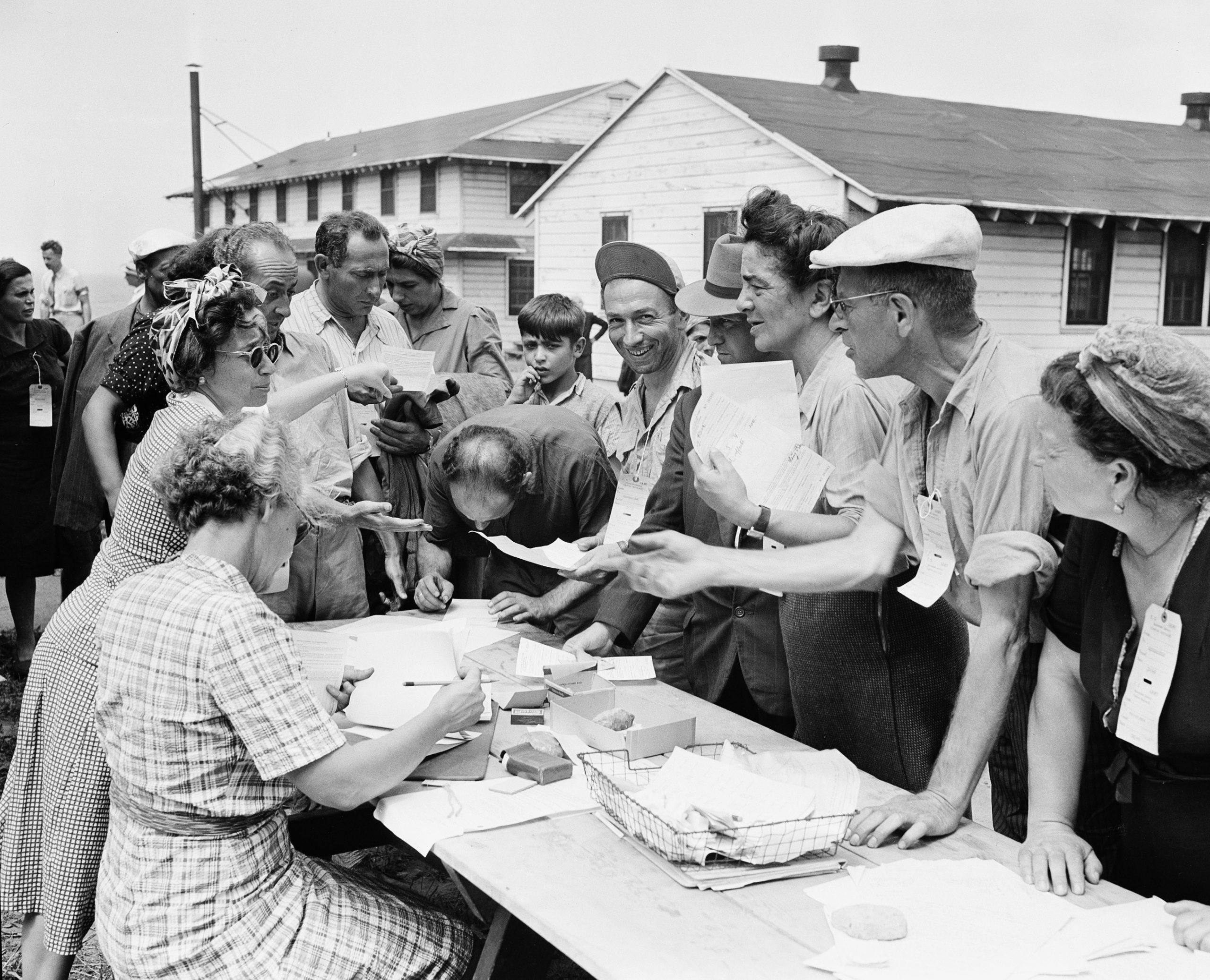 Jewish refugee camp US
